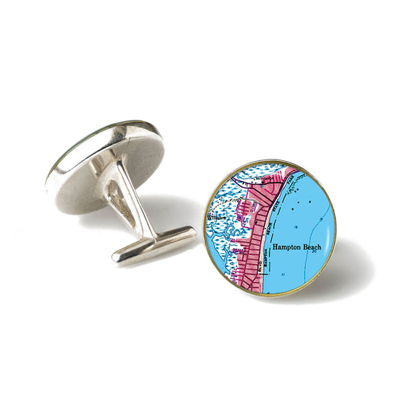 Hampton Beach Cufflinks