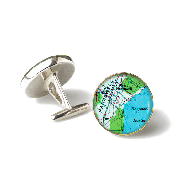 Harpswell Harbor Cufflinks