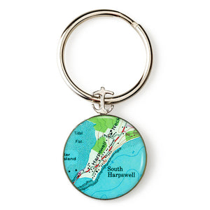 Harpswell South Key Ring