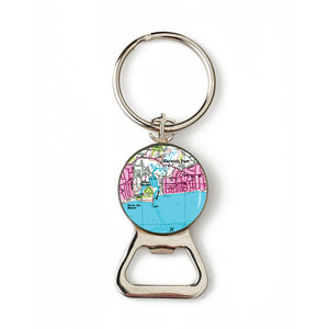 Harwich Port Combination Bottle Opener with Key Ring