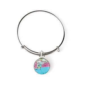 Harwich Port Expandable Bracelet with Anchor Charm