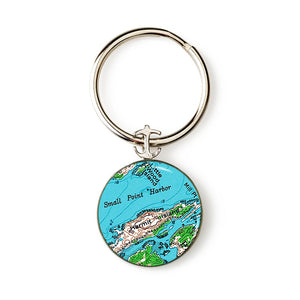 Hermit Island Key Ring