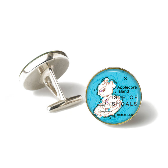 Isle of Shoals Appledore Island Cufflinks