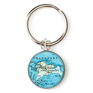 Islesford Little Cranberry 1 Anchor Key Ring