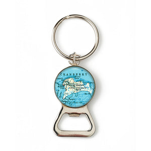 Islesford Little Cranberry 1 Anchor Combination Bottle Opener with Key Ring