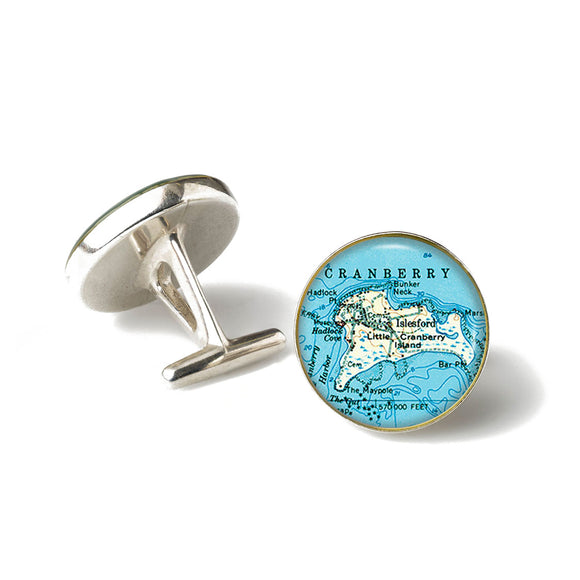 Islesford Little Cranberry 1 Cufflinks