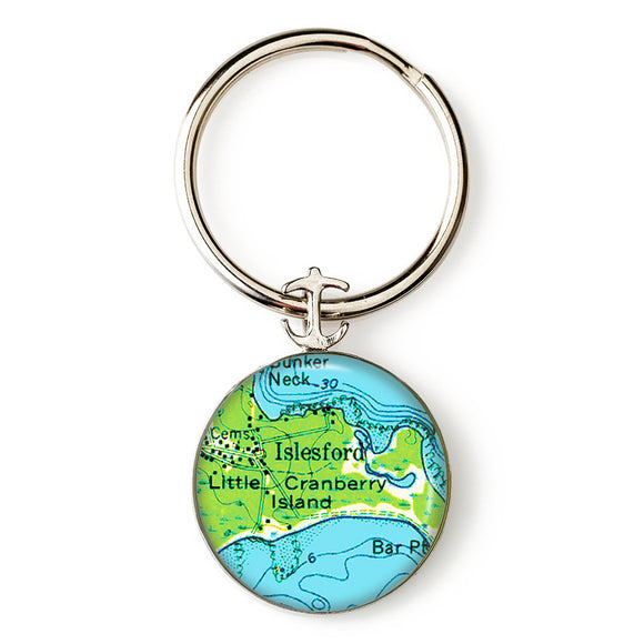 Islesford Little Cranberry 2 Anchor Key Ring