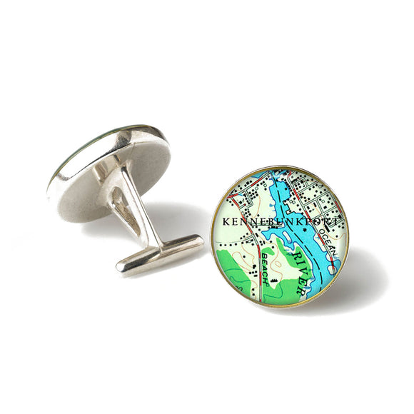 Kennebunkport Anchor Cufflinks