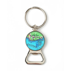 Lamoine State Park - Lamoine Beach Anchor Combination Bottle Opener with Key Ring