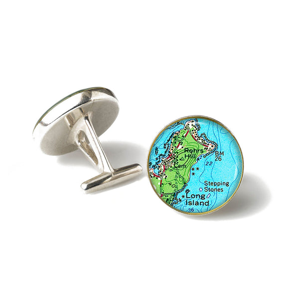 Long Island Stepping Stones Cufflinks