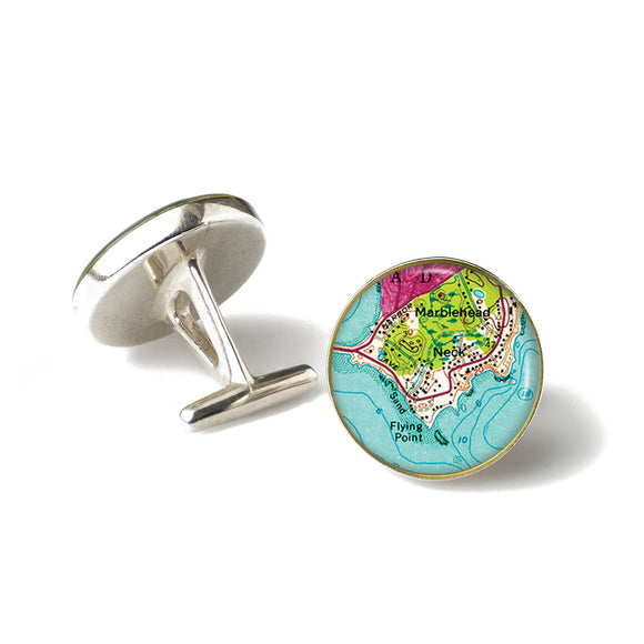 Marblehead The Neck Cufflinks