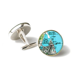 Martha's Vinyard Oak Bluffs Cufflinks
