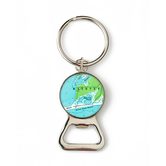 Mashpee Combination Bottle Opener with Key Ring