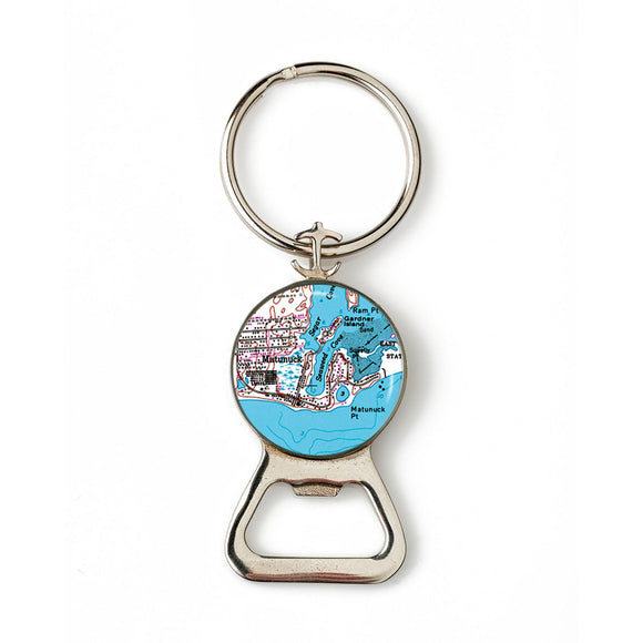 Matunuck Combination Bottle Opener With Key Ring