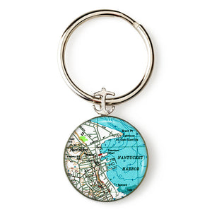 Nantucket 2 Anchor Key Ring