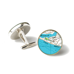 Nantucket Cisco Beach Cufflinks