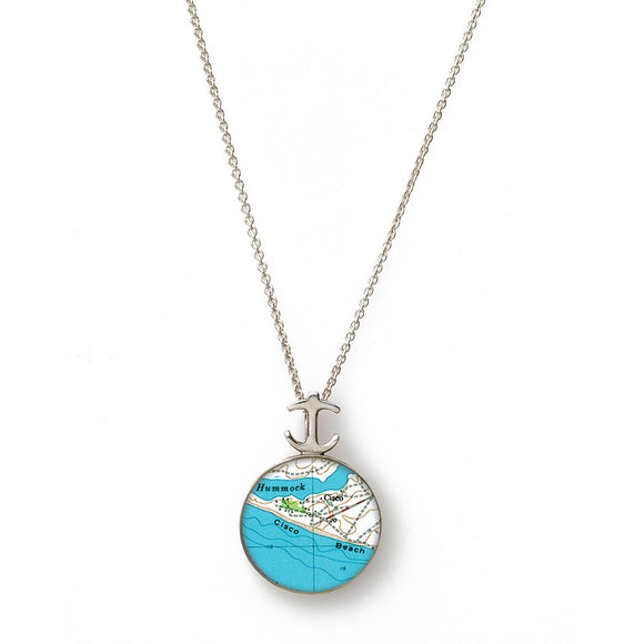 Nantucket Cisco Beach Small Anchor Pendant