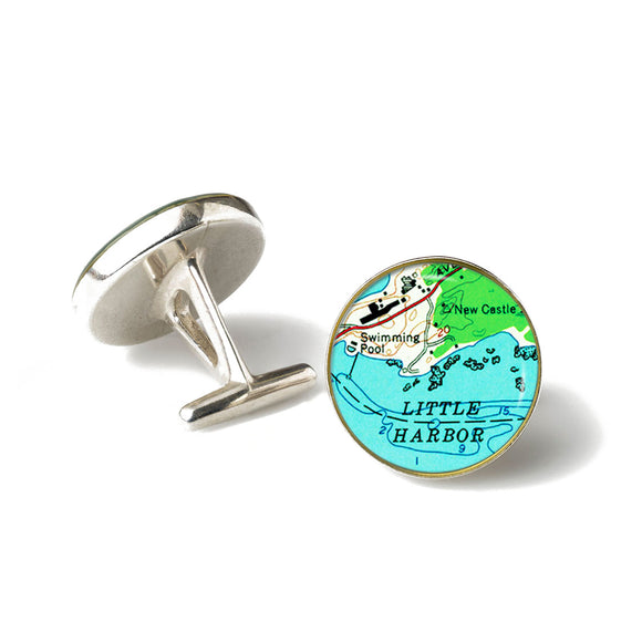 New Castle Little Harbor Cufflinks