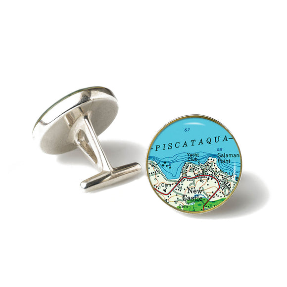 New Castle Yacht Club Cufflinks