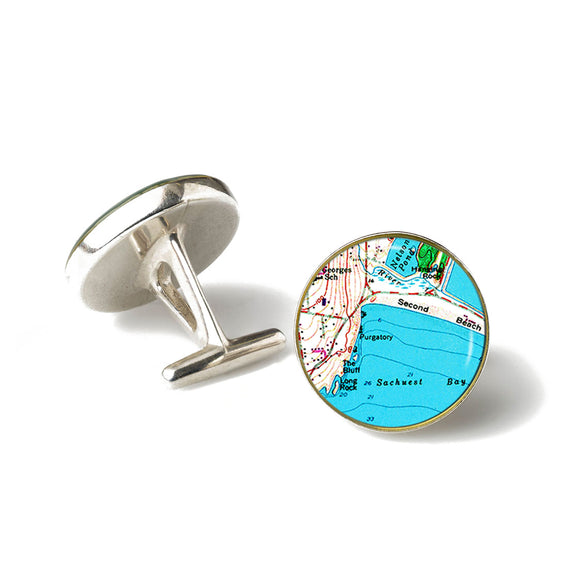 Newport Second Beach Cufflinks