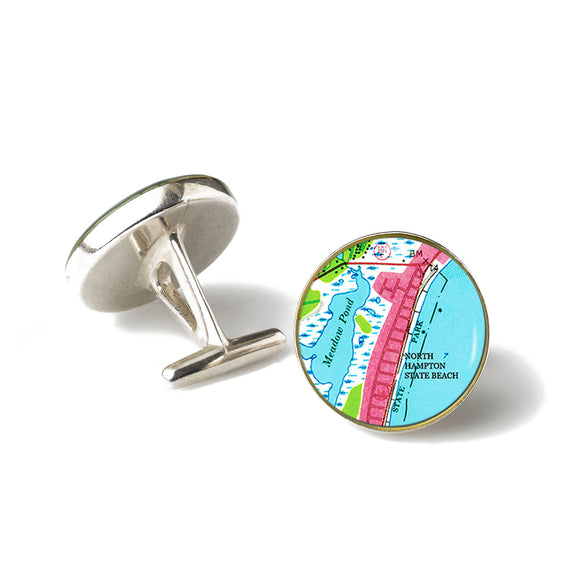 North Hampton State Beach Cufflinks