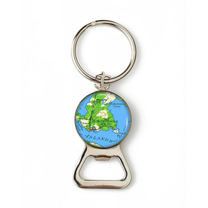 North Haven Combination Bottle Opener with Key Ring