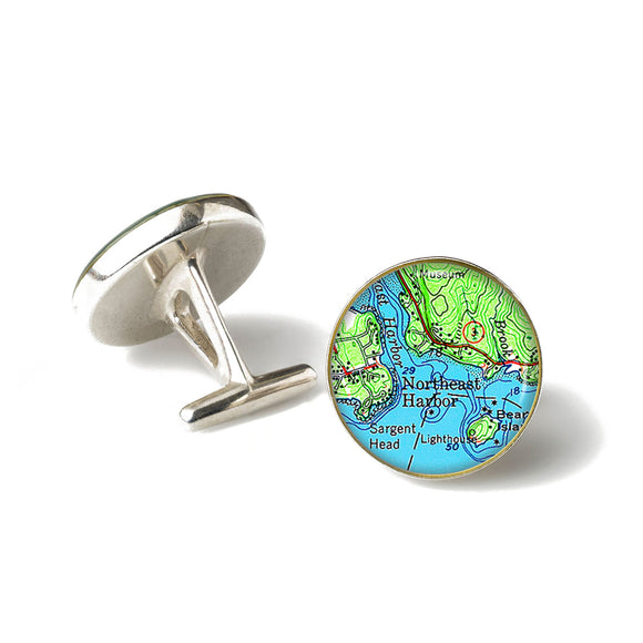 Northeast Harbor Cufflinks
