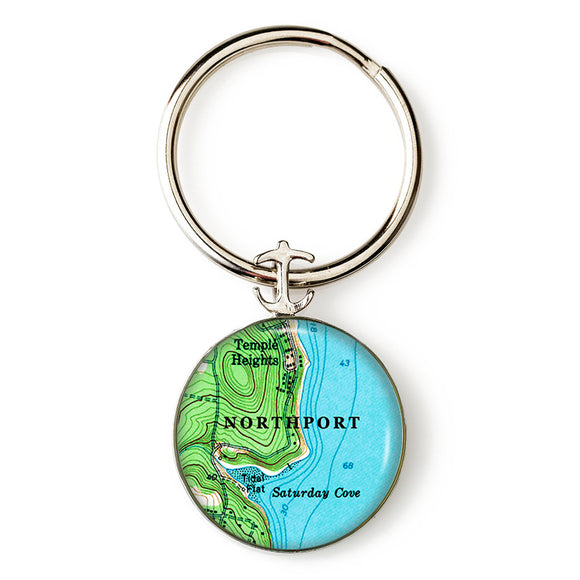 Northport Saturday Cove Key Ring