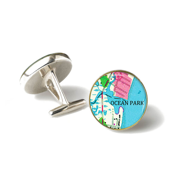 Ocean Park Anchor Cufflinks