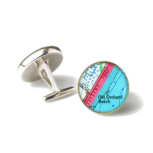 Old Orchard Beach 1 Anchor Cufflinks