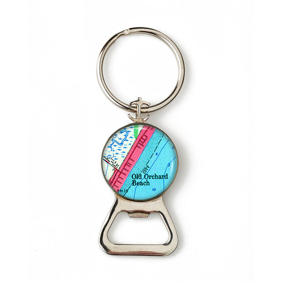 Old Orchard Beach 1 Combination Bottle Opener with Key Ring