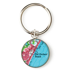 Old Orchard Beach 2 Anchor Key Ring