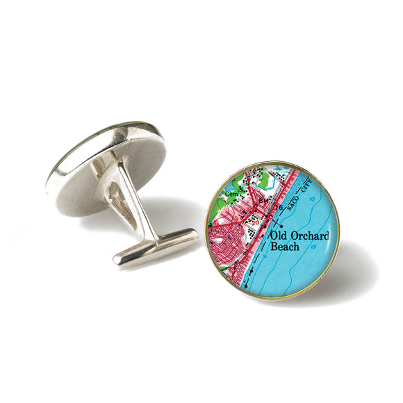 Old Orchard Beach 2 Anchor Cufflinks