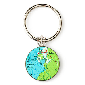 Phippsburg Sebasco Harbor Key Ring