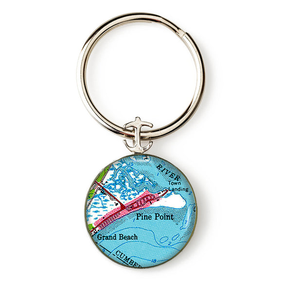 Pine Point 1 Anchor Key Ring