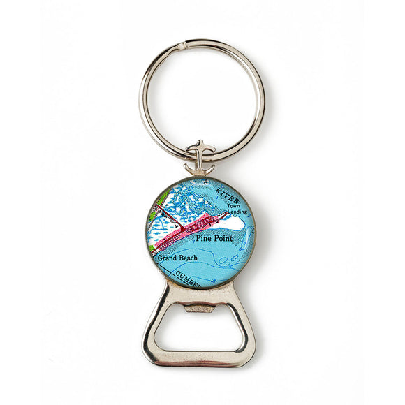 Pine Point 1 Combination Bottle Opener With Key Ring