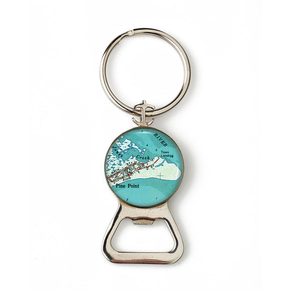 Pine Point 2 Combination Bottle Opener With Key Ring
