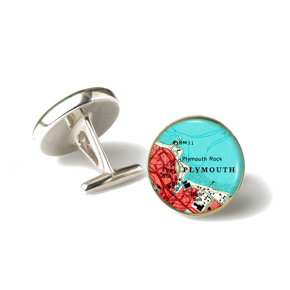 Plymouth Rock Cufflinks