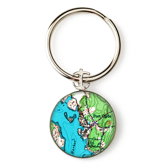 Port Clyde Key Ring