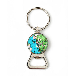 Port Clyde Combination Bottle Opener with Key Ring
