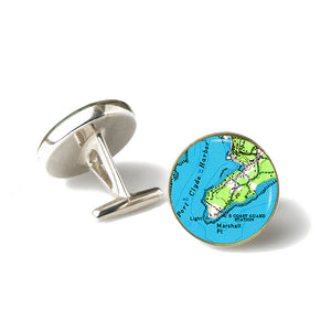 Port Clyde Marshall Point Lighthouse Cufflinks