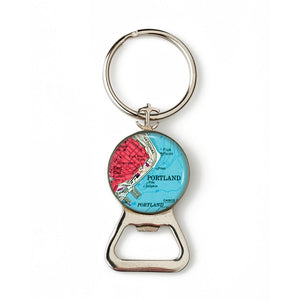 Portland Harbor Fish Point 1 Combination Bottle Opener With Key Ring