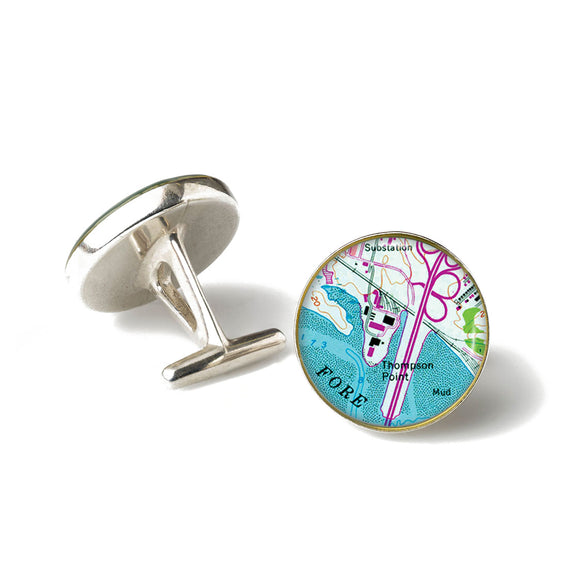 Portland Thompson Point Cufflinks