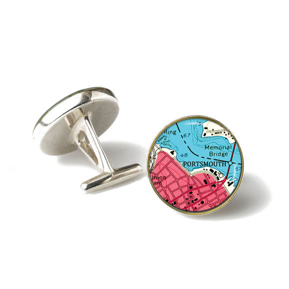 Portsmouth Memorial Bridge Cufflinks