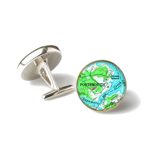 Portsmouth Sagamore Creek Cufflinks