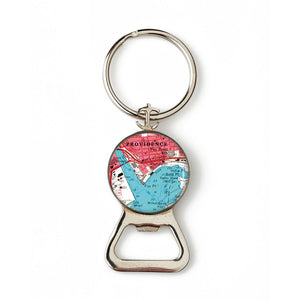 Providence Combination Bottle Opener With Key Ring