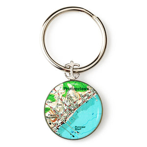 Provincetown Anchor Key Ring