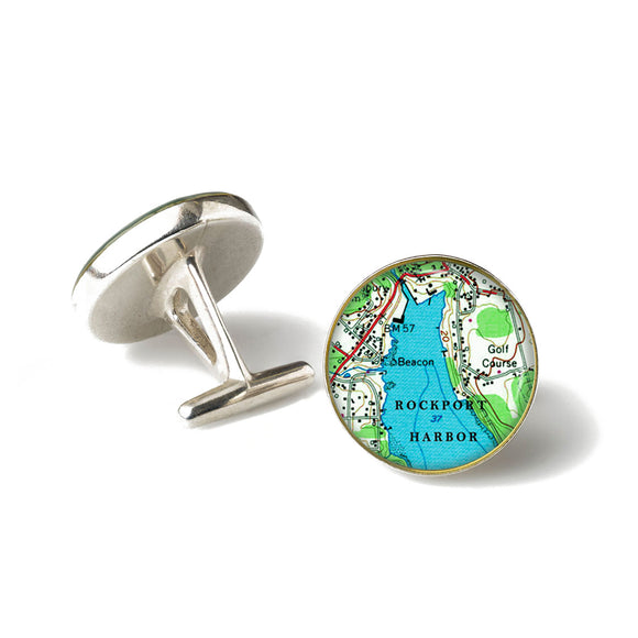 Rockport Harbor Cufflinks