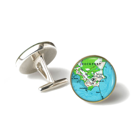 Rockport Samoset Cufflinks