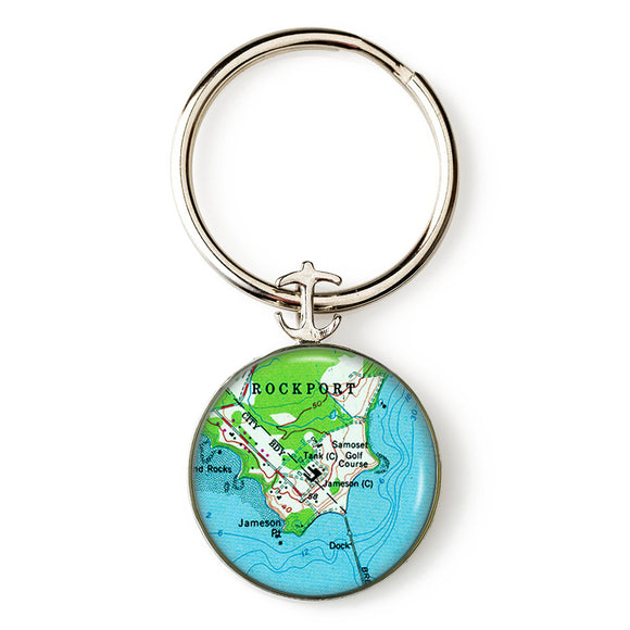 Rockport Samoset Key Ring